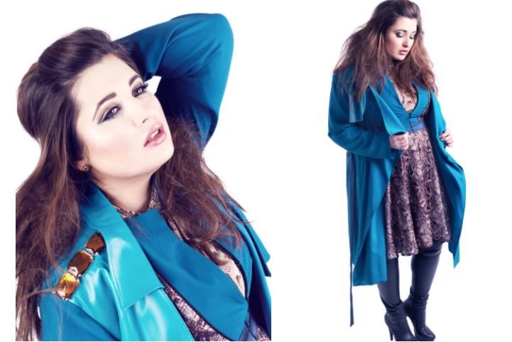 Plus Size Woman in Marcel Ostertag Collection, Fotograf: Max Ebert