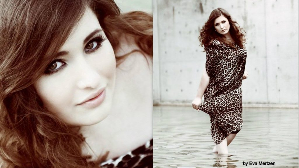 Plus Size Woman Shooting, Eva Mertzen