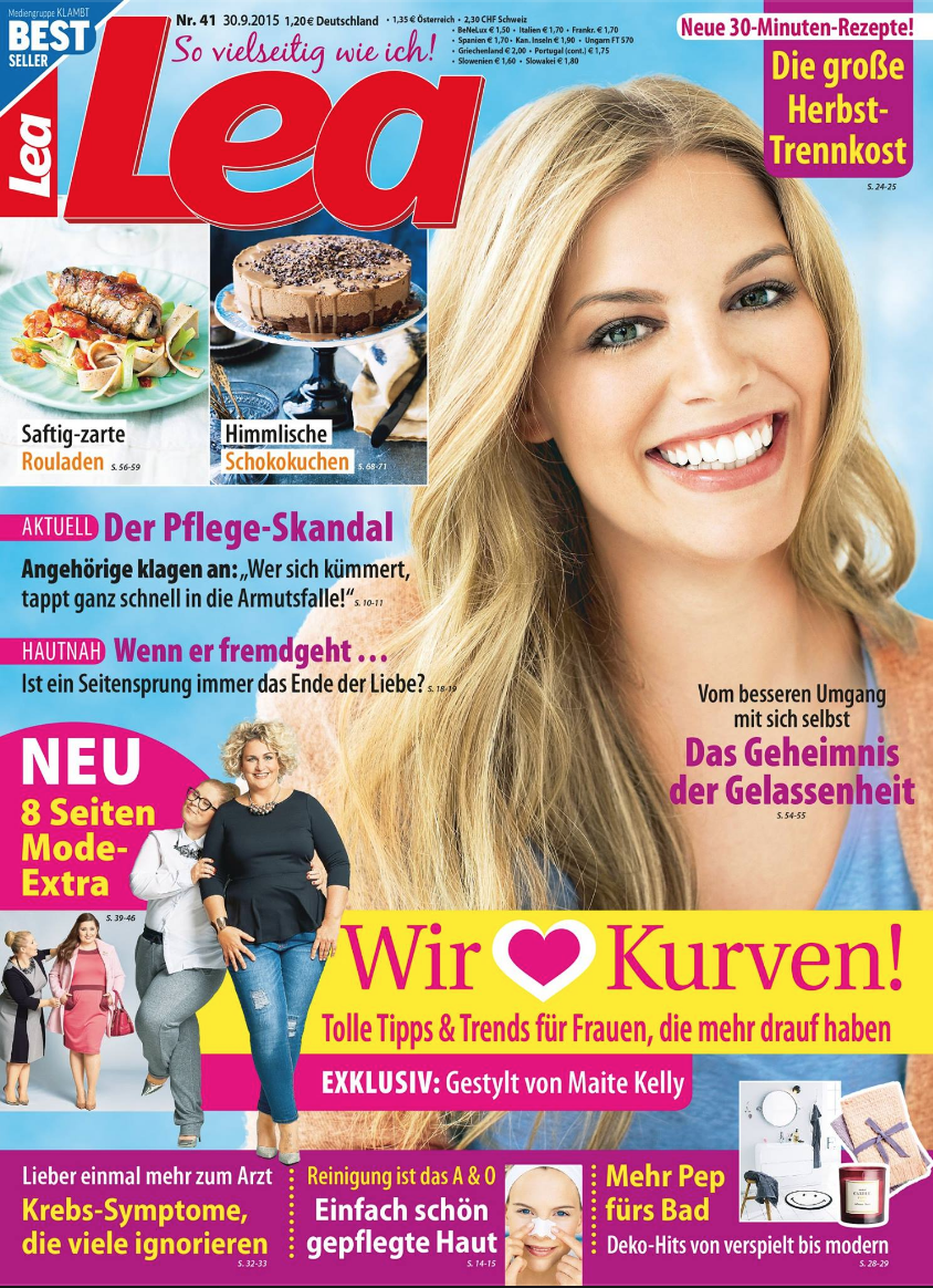 Lea Frauenzeitschrift, Kurven Spezial 2015