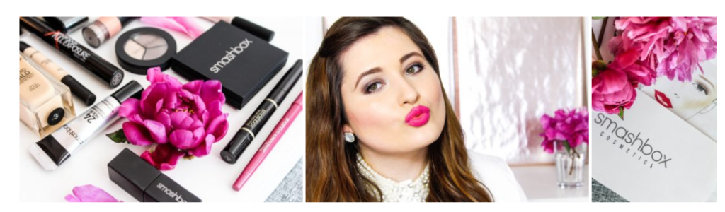 Douglas Blogger Blog Beautystories SchönWild Tag des Kusses Fuchsia Smashbox