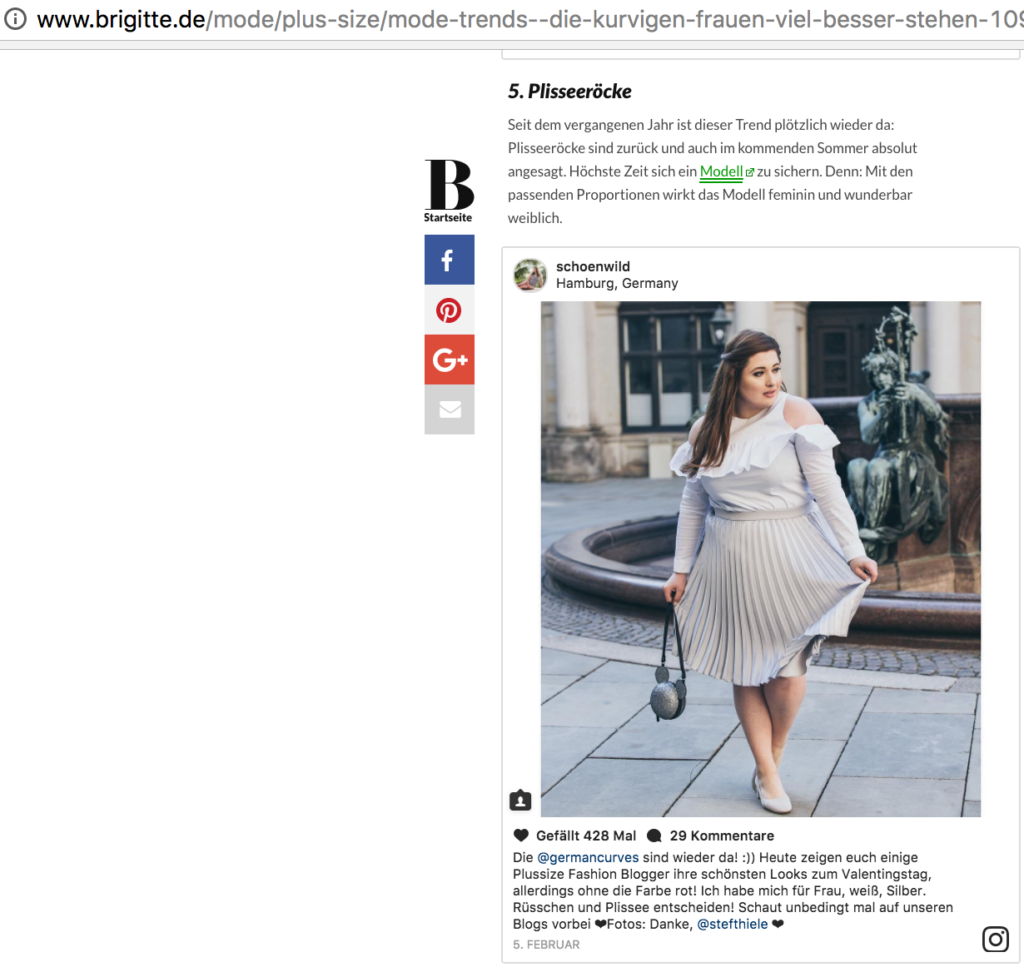 5 Modetrends die kurvigen Frauen besser stehen_Plus size bloggerin SchönWild