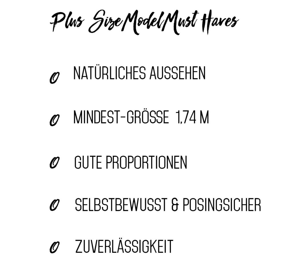 Plus Size Model Hamburg Plus Size Deutschland Bloggerin Instagrammer Curvy Model Body Positivity Wie werde ich Plus Size Model Was muss man als Model haben