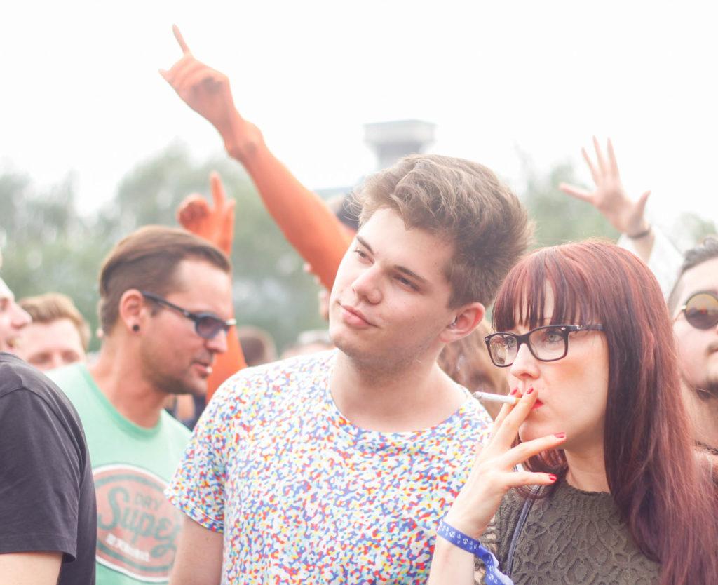 Stil vor Talent Festival Hamburg, junger Mann