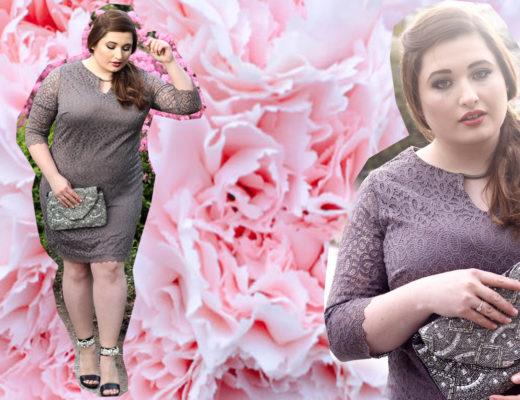 Plus Size Fashion, Hochzeitsgast Outfit für kurvige Frauen, Titelbild
