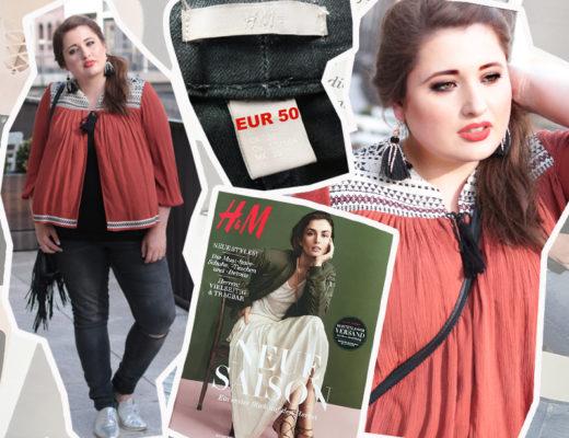 H&m Plus Kritik, neuer Katalog, Plus Size Model