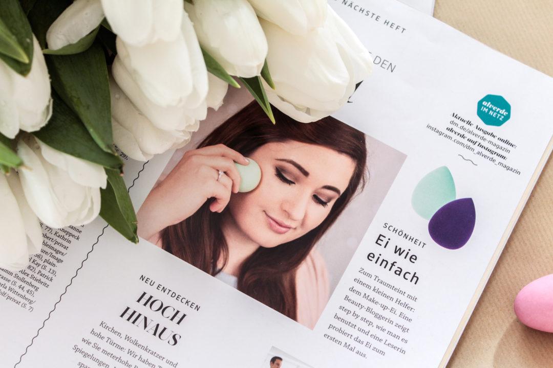 Ostern Magazin DM Alverde Jules SchönWild wie verwende ich das Make-up Ei? So verwendest du den Beautyblender Blogbeitrag