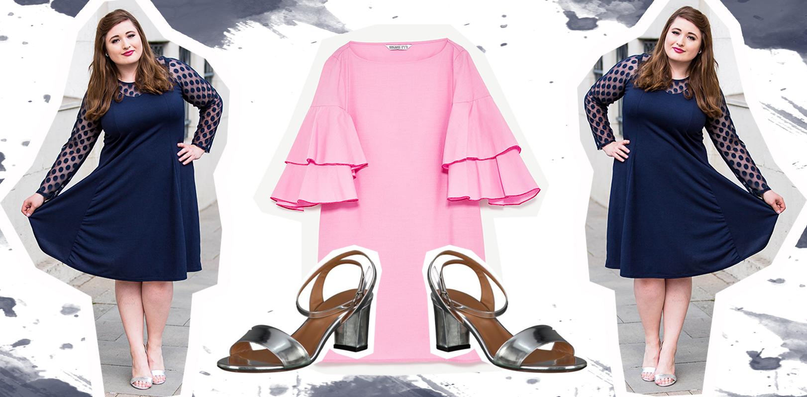 plus size kleider – schöne sommer look inspirationen für