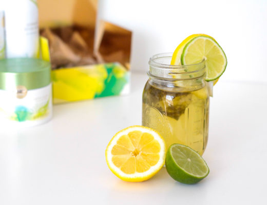 Food-Blog-Hamburg-DIY-Eistee-selbermachen-Homemade-Icetea-Zitrone-Limette-Ahornsirup-Rezept-Rituals-Limited-Edition-Express-your-Soul