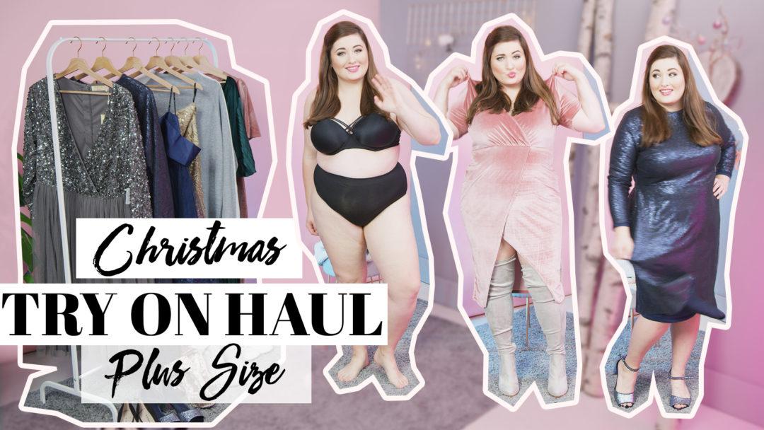 88799b12c54 Weihnachts Outfit Inspiration XXL I Festliche Kleider für Große Größen –  ASOS CURVE YOUTUBE