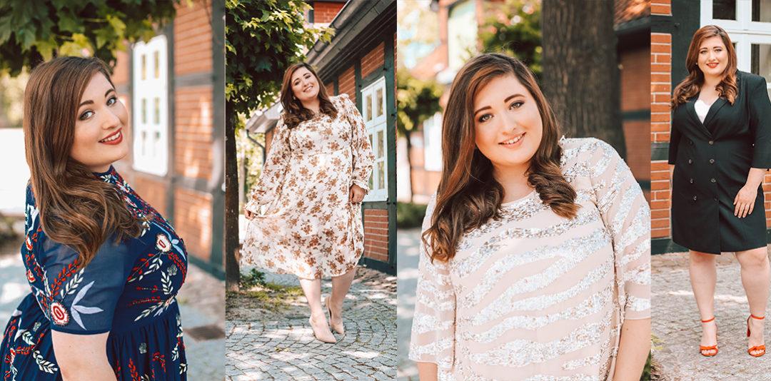 7632f78150496 Die schönsten Plus Size Hochzeitsgast Kleider! Hochzeitsgast Outfit Guide  für große Größen 2019 von Navabi!